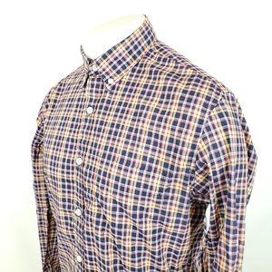 J Crew Button Front Shirt Sz Medium Thomas Mason